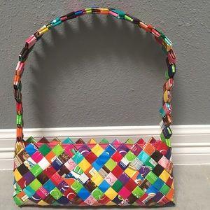 Nahui Ollin shoulder purse